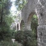 Aquedukt arboretum Trsteno