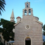 The Catholic church in Budva