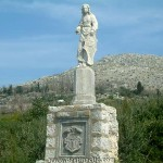 Petrifies monuments - Arboretum Trsteno