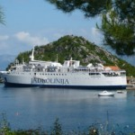 Ship for the Mljet