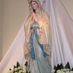 Sculpture of mother God's in the church