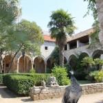 Monastery and  restaurant on Lokrum