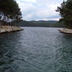 Mljet - Entrance in the large lake